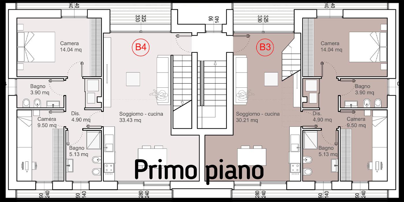 Loft due camere cittadella b3 la traccia - Agevolazioni fiscali giardino 2017 ...