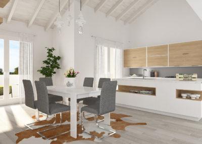 Loft tre camere più studio Cittadella – C5