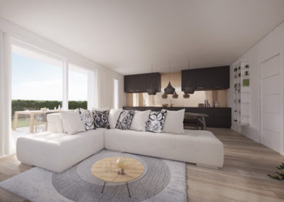 Tre camere al piano terra Cittadella – C2